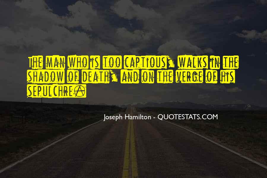 Joseph Hamilton Quotes #927270