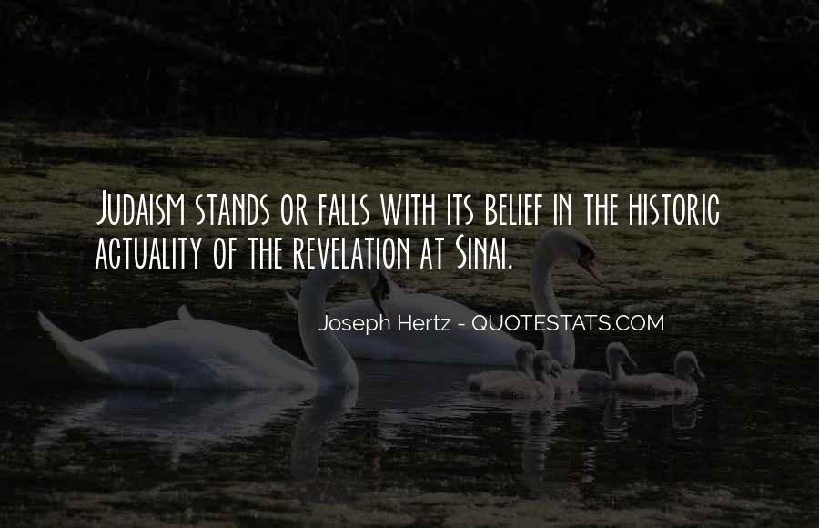 Joseph Hertz Quotes #1263092