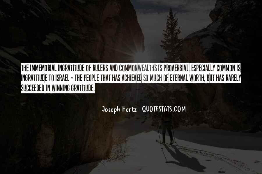 Joseph Hertz Quotes #1279376