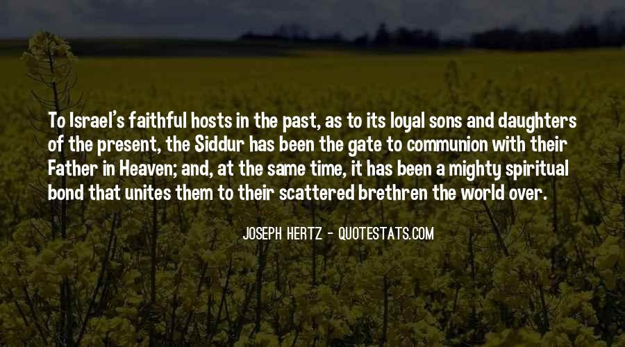 Joseph Hertz Quotes #1561064