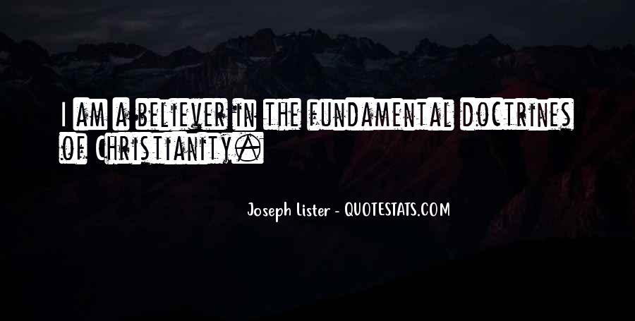 Joseph Lister Quotes #882295