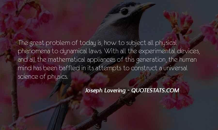 Joseph Lovering Quotes #1698138