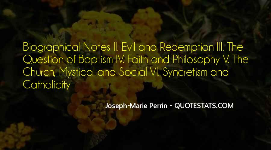 Joseph-Marie Perrin Quotes #1599298