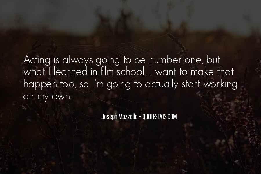 Joseph Mazzello Quotes #1750314