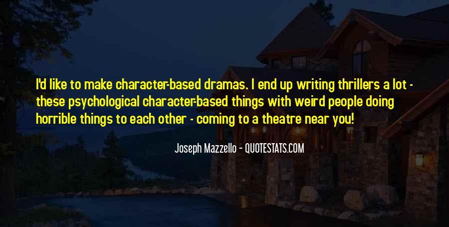 Joseph Mazzello Quotes #913873