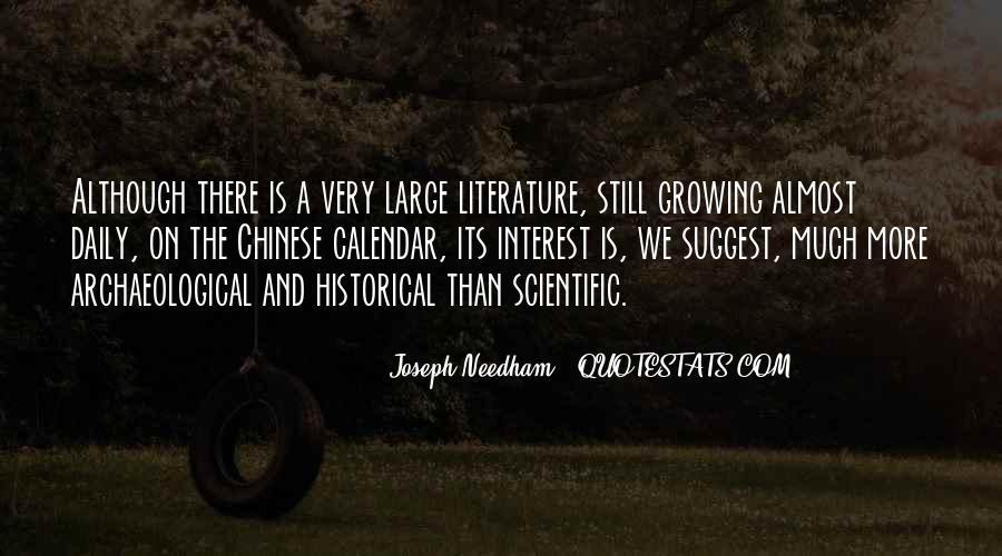 Joseph Needham Quotes #1848885
