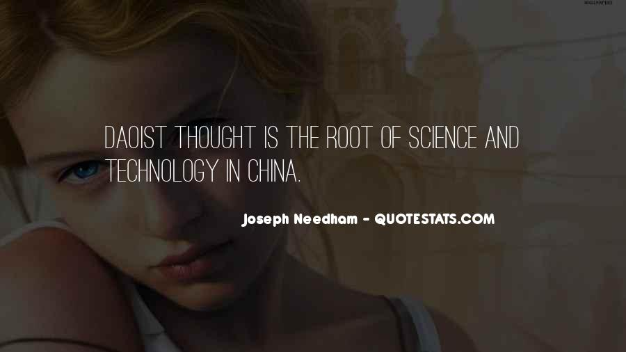Joseph Needham Quotes #69393