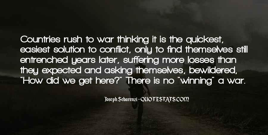 Joseph Sebarenzi Quotes #1837857