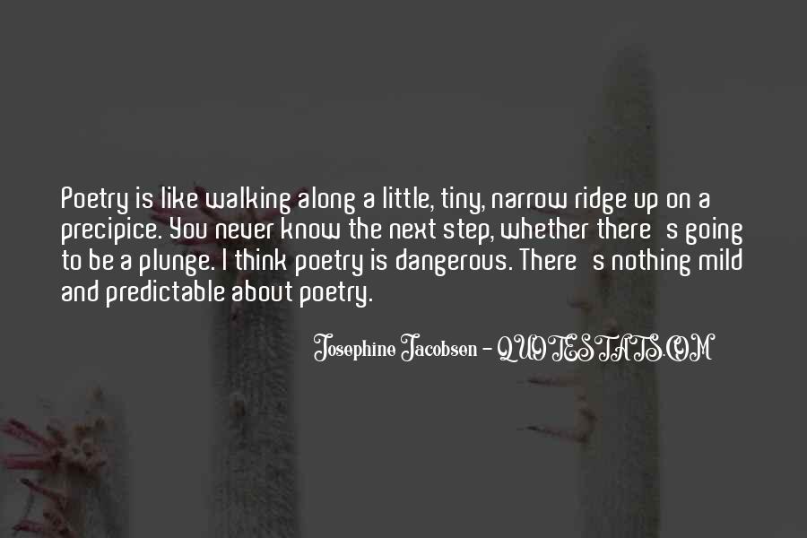 Josephine Jacobsen Quotes #1782218