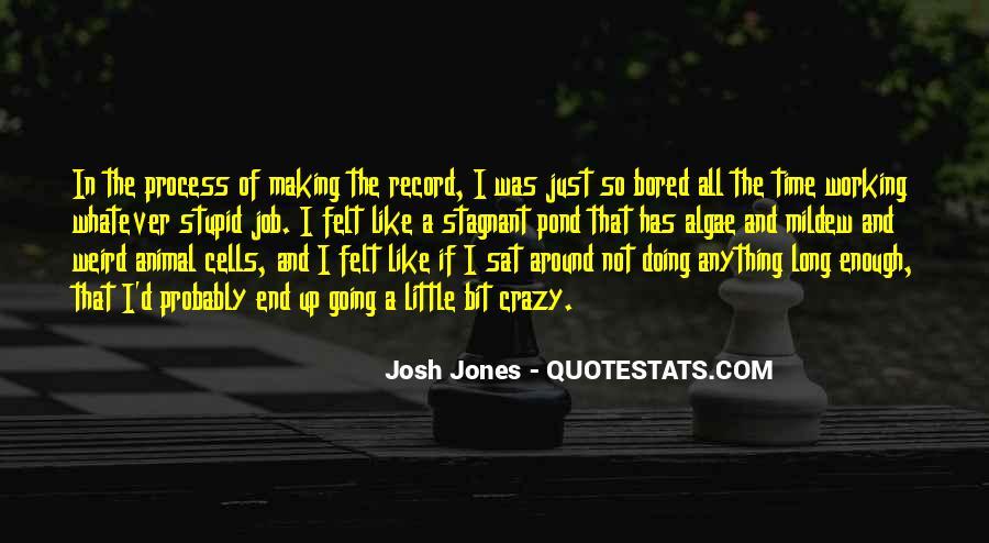 Josh Jones Quotes #726453