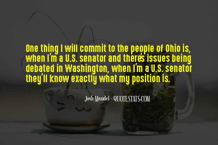 Josh Mandel Quotes #1843355