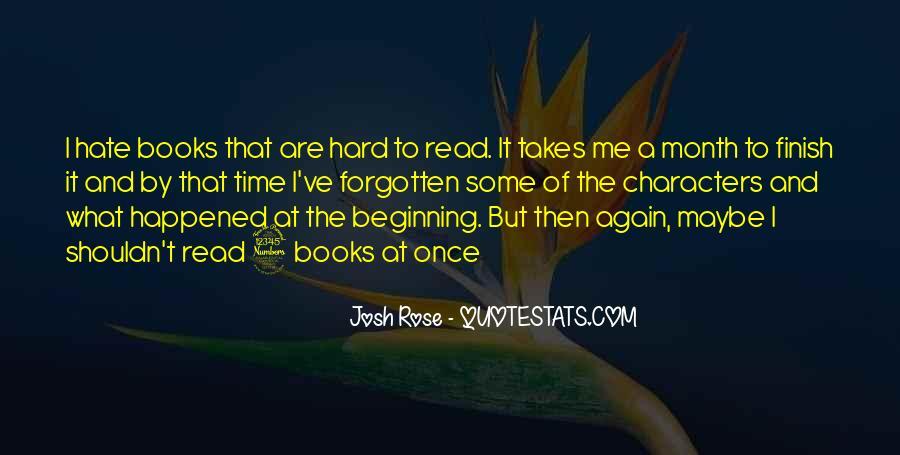 Josh Rose Quotes #1477550