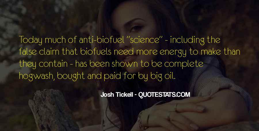 Josh Tickell Quotes #806077