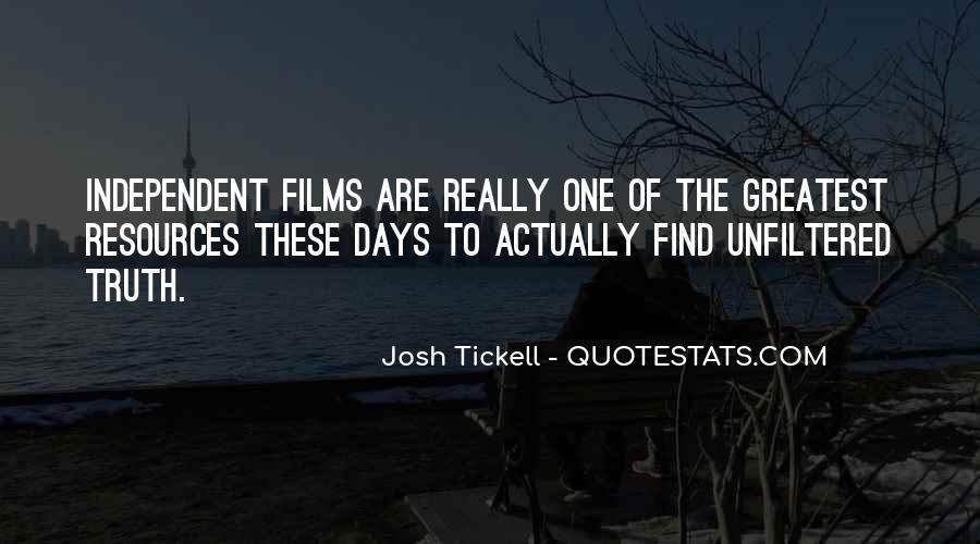 Josh Tickell Quotes #859468