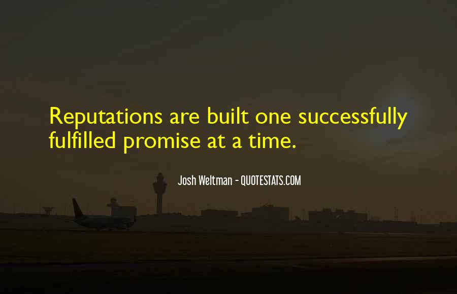 Josh Weltman Quotes #795780