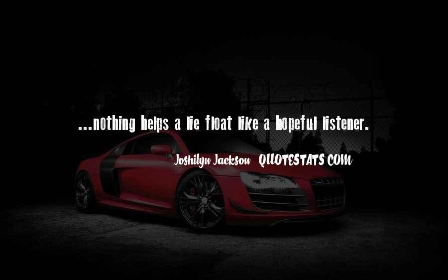 Joshilyn Jackson Quotes #1549799