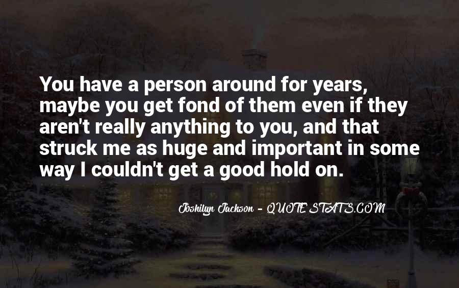 Joshilyn Jackson Quotes #336809