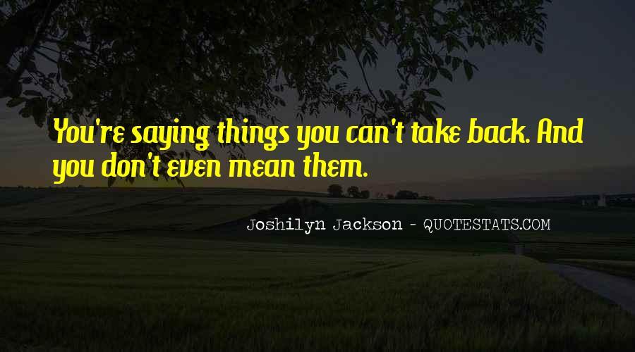Joshilyn Jackson Quotes #446314