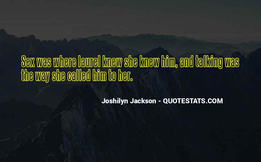 Joshilyn Jackson Quotes #677876