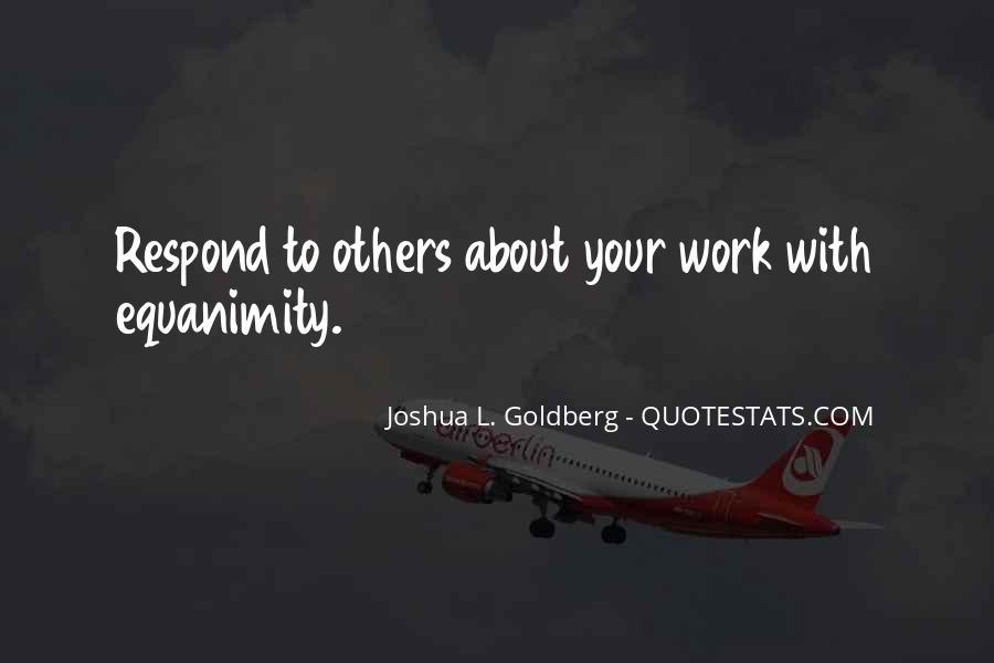 Joshua L. Goldberg Quotes #1818334