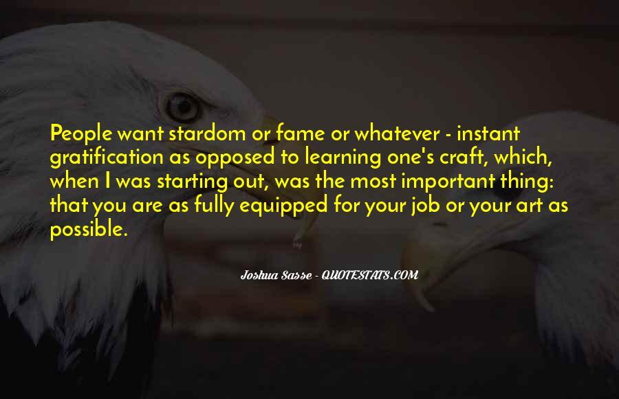 Joshua Sasse Quotes #16077