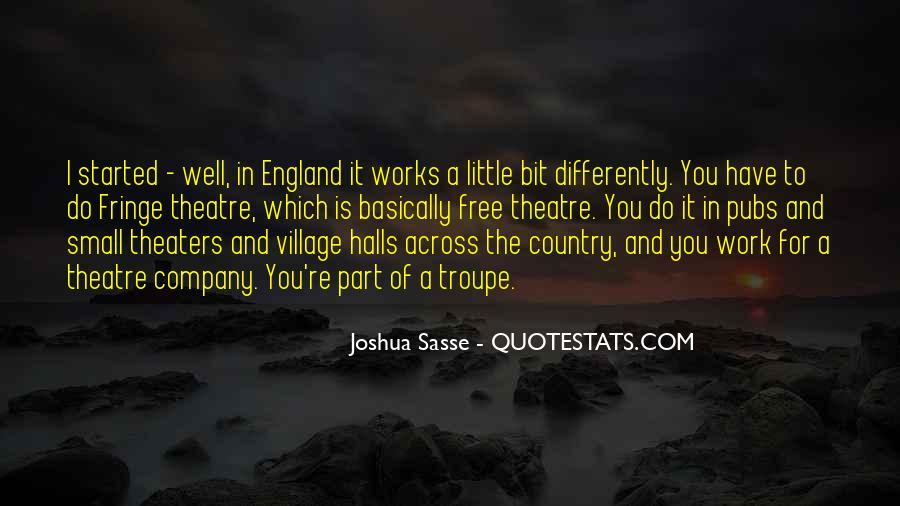 Joshua Sasse Quotes #1628101