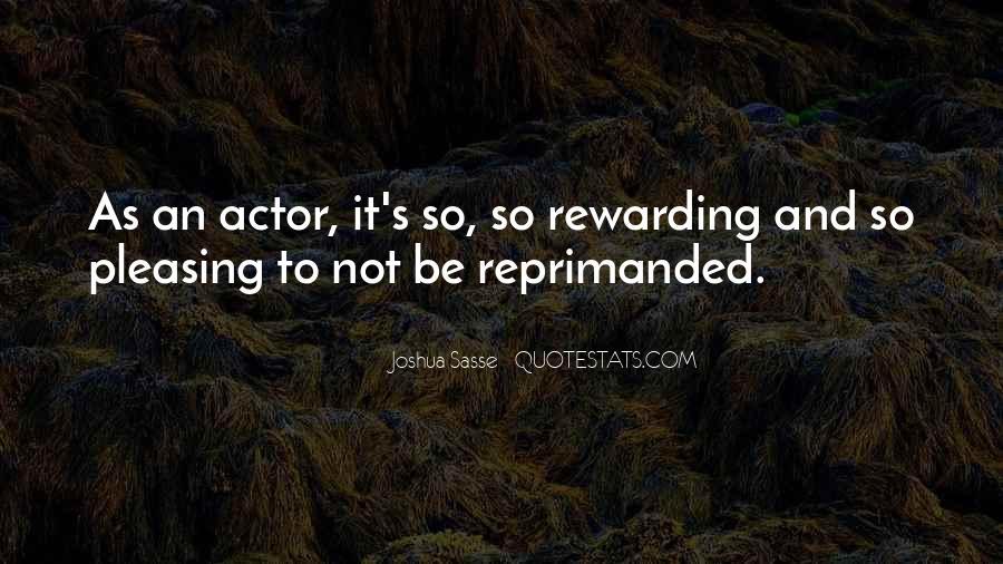 Joshua Sasse Quotes #421978