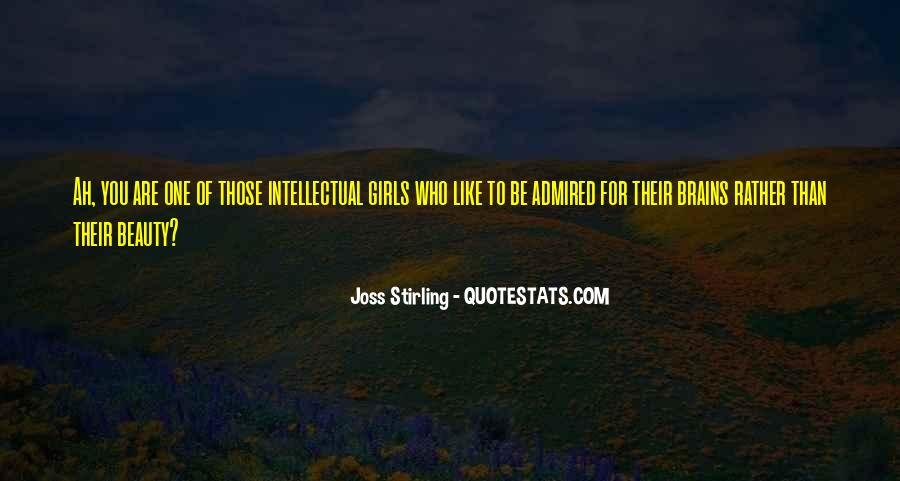 Joss Stirling Quotes #1112834