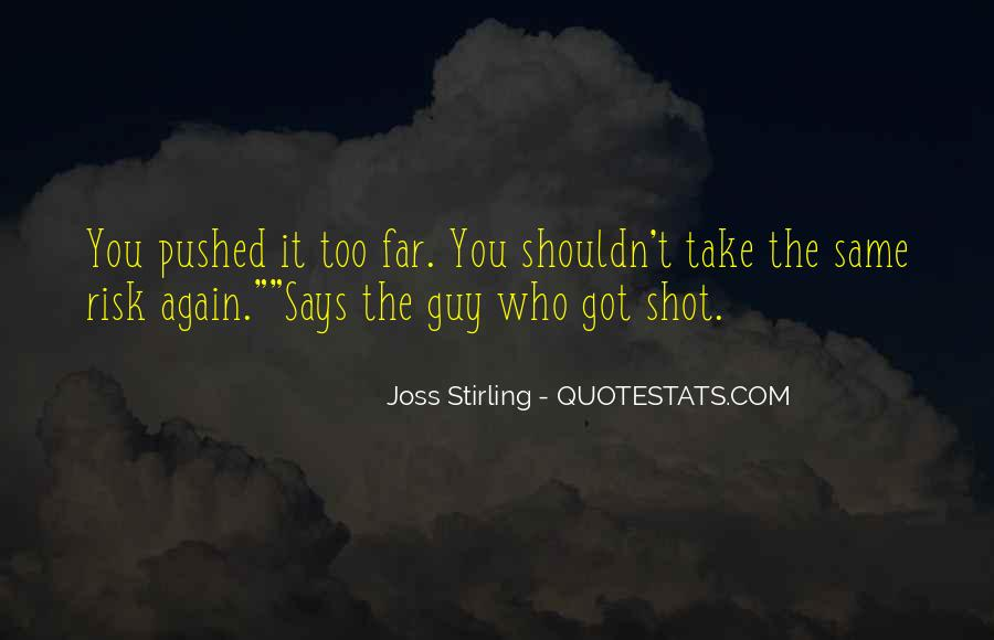 Joss Stirling Quotes #1346666