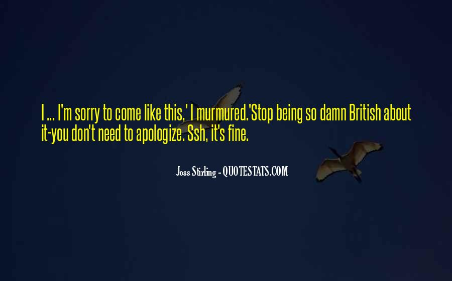 Joss Stirling Quotes #1386296