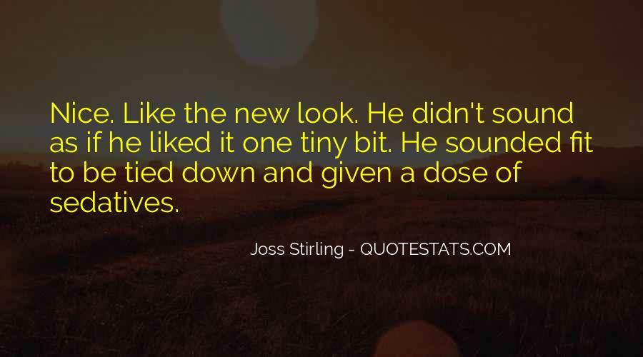 Joss Stirling Quotes #1490084