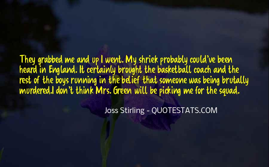 Joss Stirling Quotes #1711794