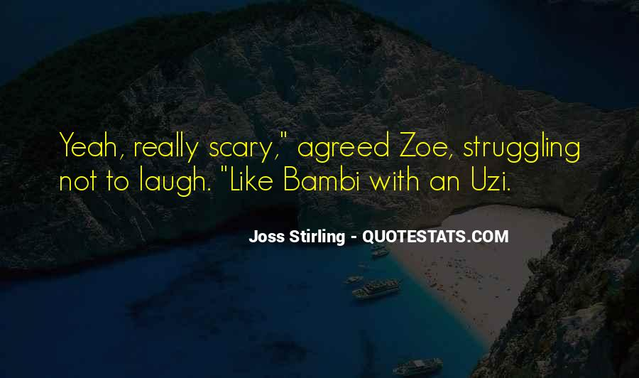 Joss Stirling Quotes #375848