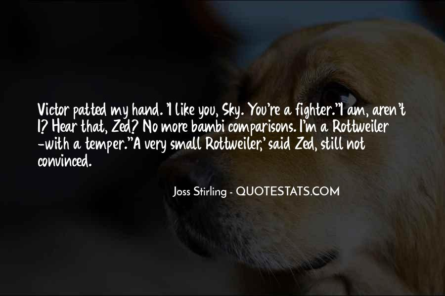 Joss Stirling Quotes #584907