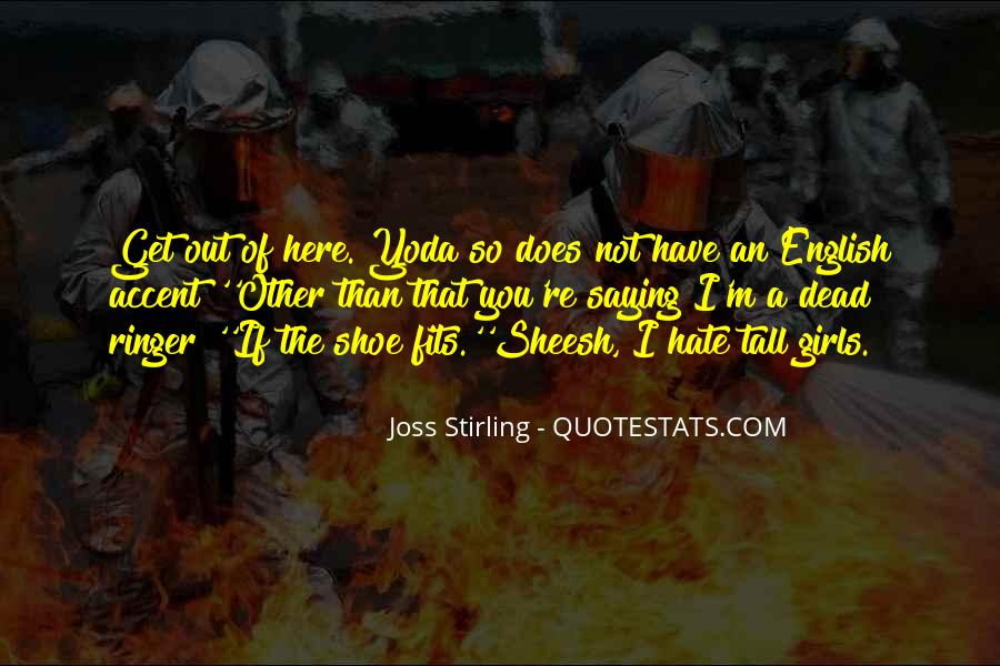 Joss Stirling Quotes #676314