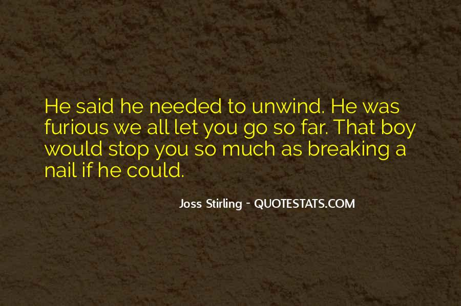 Joss Stirling Quotes #761422