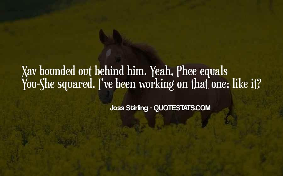 Joss Stirling Quotes #964859