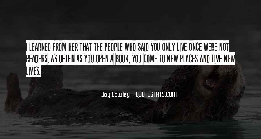 Joy Cowley Quotes #1011690