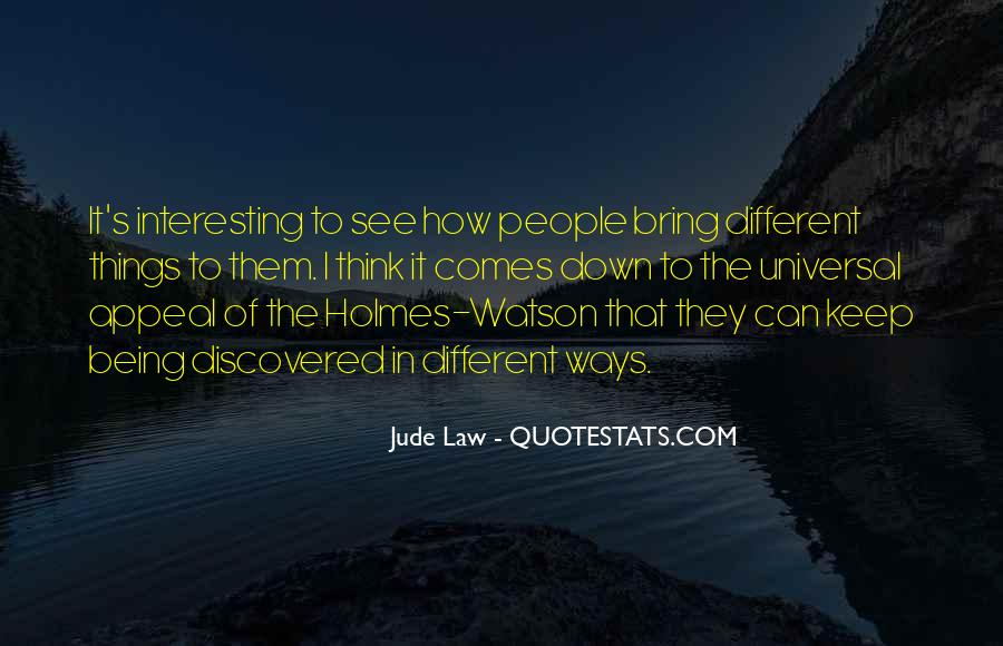 Jude Law Quotes #1540461