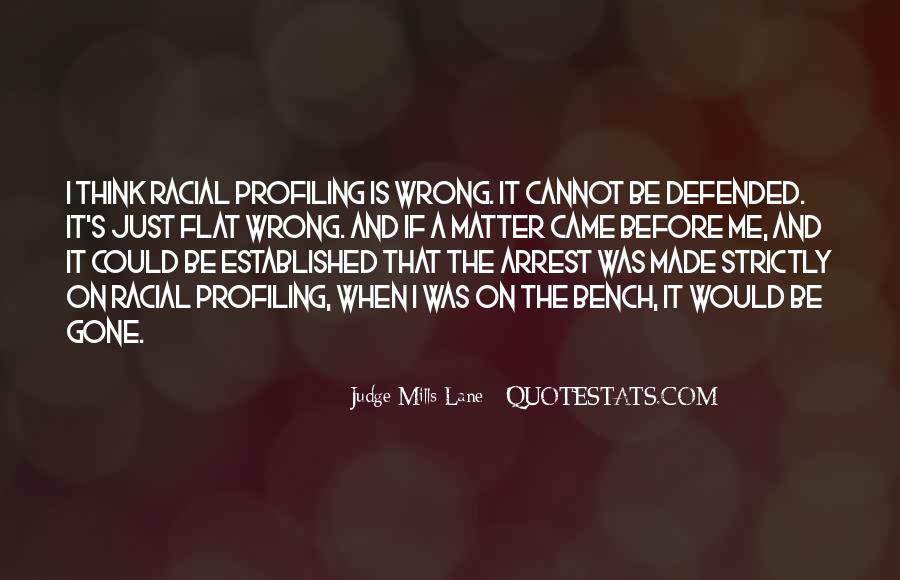 Judge Mills Lane Quotes #183859
