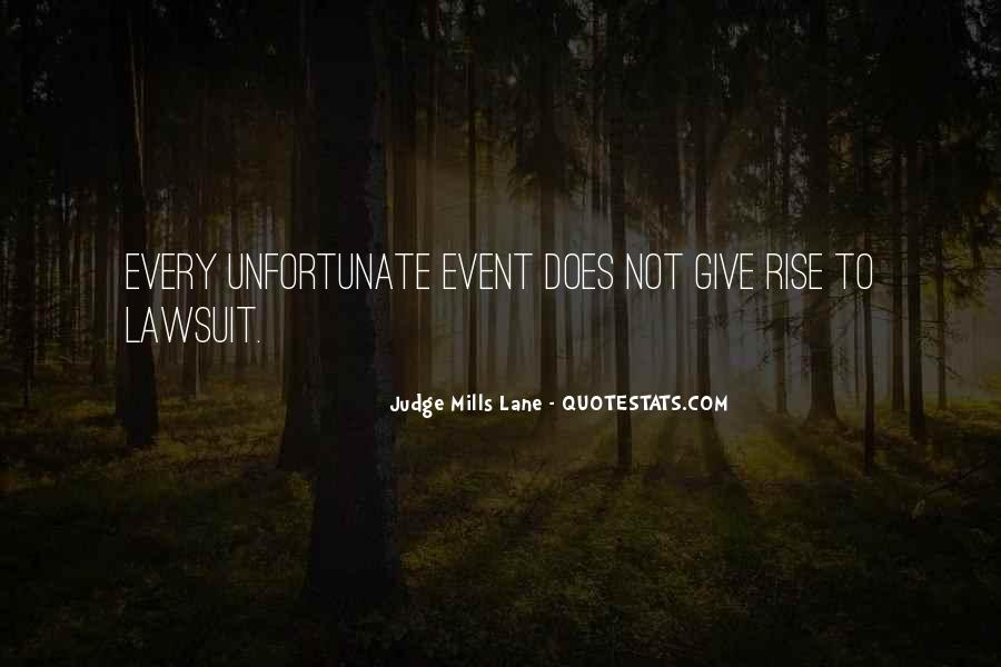 Judge Mills Lane Quotes #328433