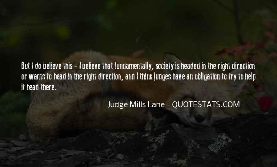 Judge Mills Lane Quotes #453113