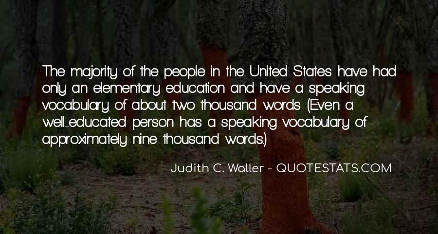 Judith C. Waller Quotes #1772155