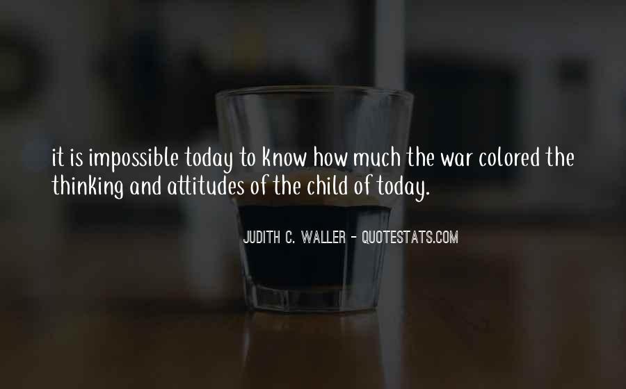 Judith C. Waller Quotes #757669