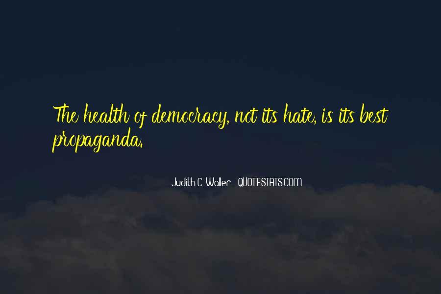 Judith C. Waller Quotes #837856