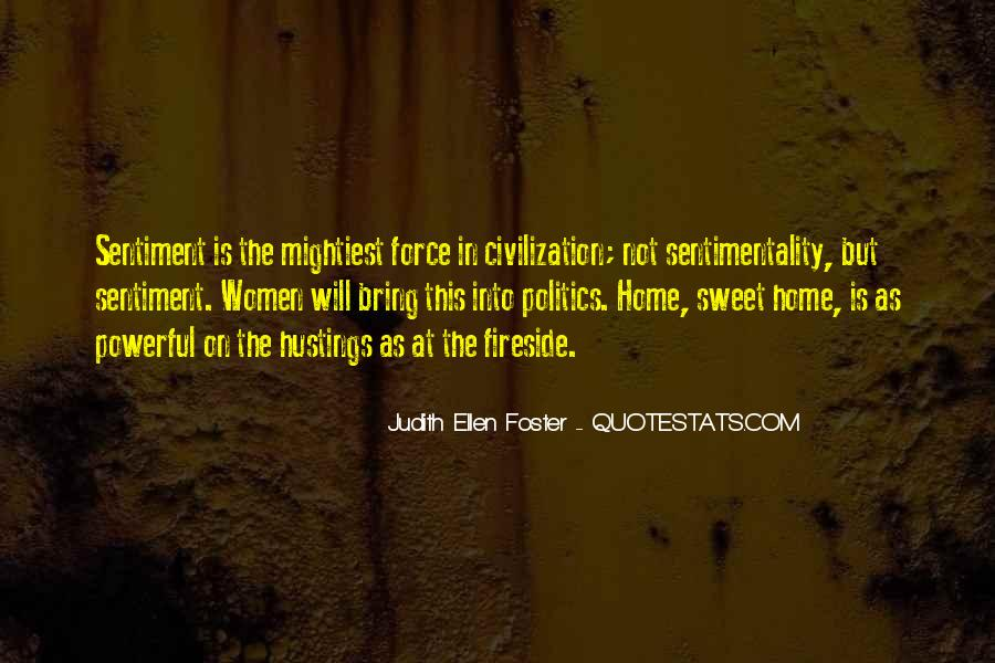 Judith Ellen Foster Quotes #1211101