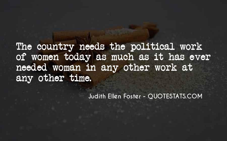 Judith Ellen Foster Quotes #1794898