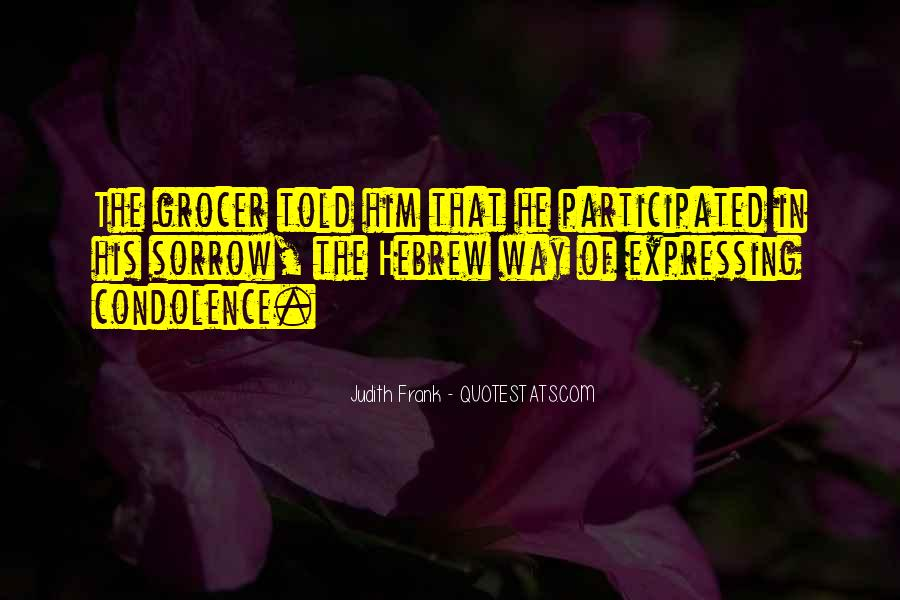 Judith Frank Quotes #161614