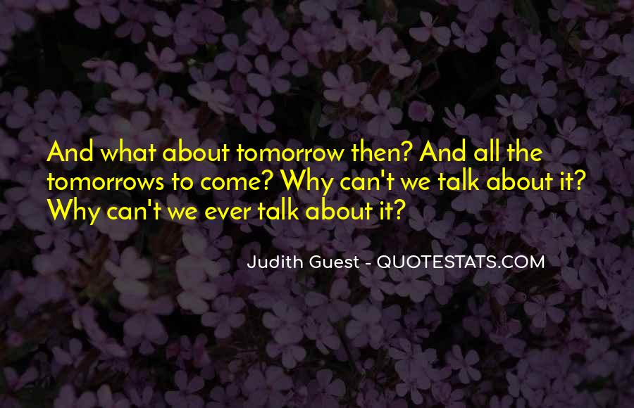 Judith Guest Quotes #953168