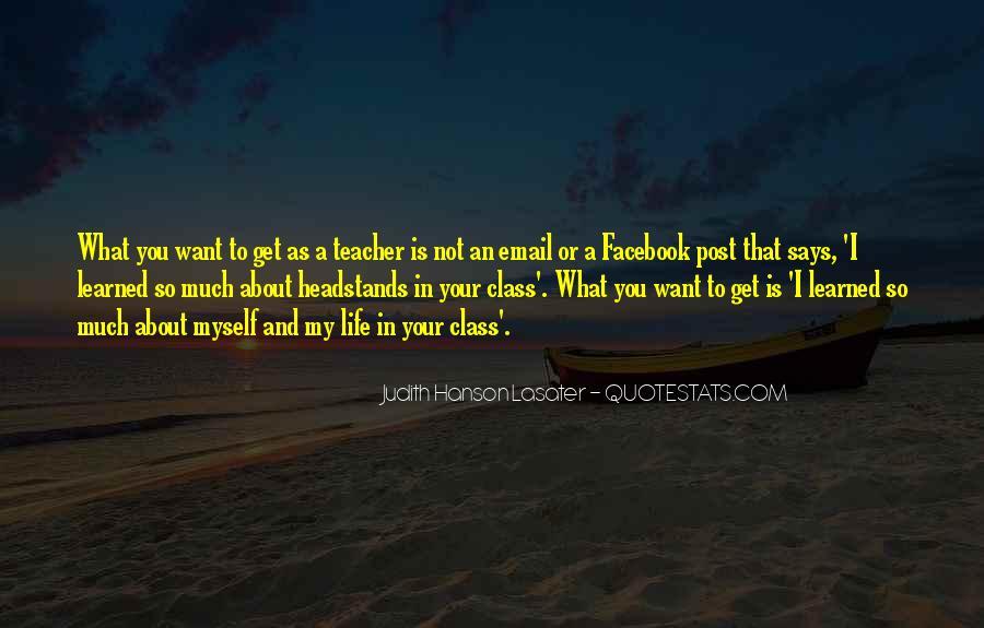 Judith Hanson Lasater Quotes #1782991
